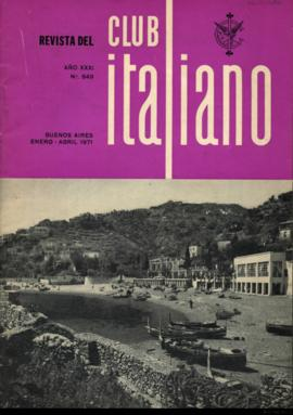 Revista del Club Italiano, año XXXI, n° 849