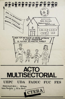 Acto Multisectorial