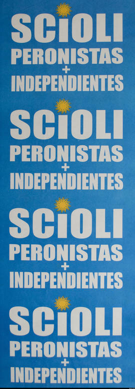 Scioli peronistas + independientes