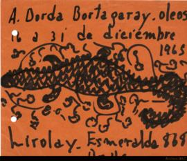 A. Borda Bortagaray: óleos