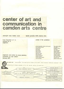 Center of art and communication in Camden Arts Centre