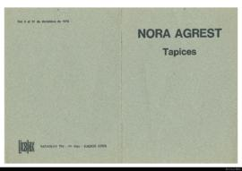 Nora Agrest: Tapices